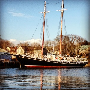 The Bluenose Schooner.