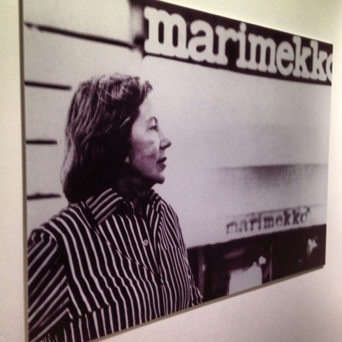 An image of Armi Ratia in 1975 from the exhibition.