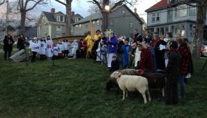 Christmas Eve, St. John's Anglican, Lunenburg
