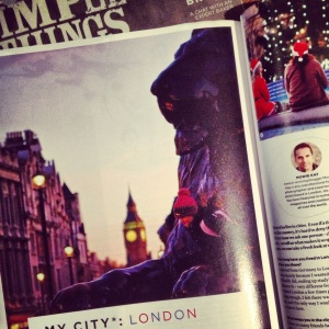 The City tour (London) from the 4th issue.