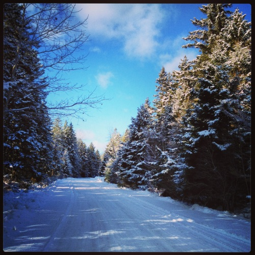 Winter Road, near Lunenburg.
