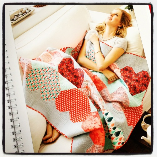Quilt Design by one of the top designers in the fabric world, Tula Pink.